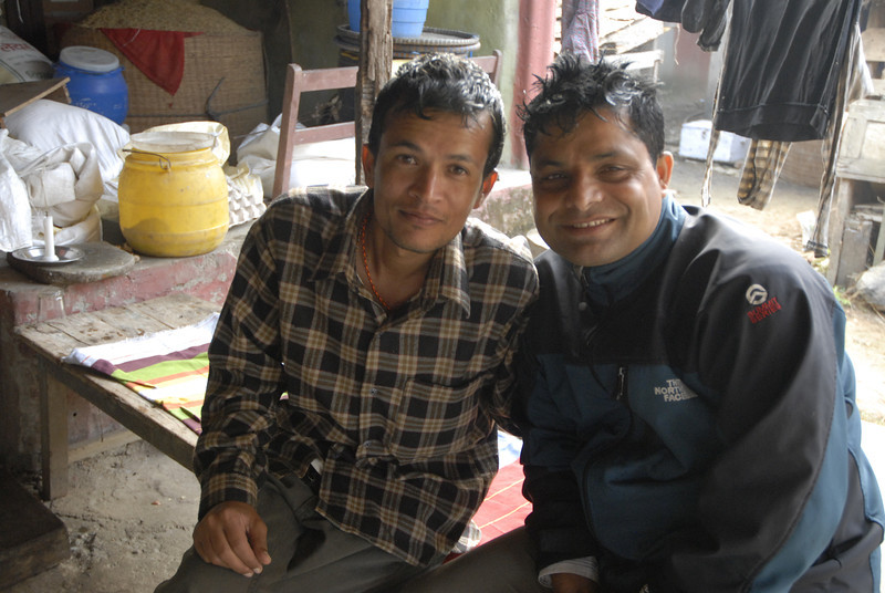 While in Chitwan, Sahadev came so that we could purchase a science lab for a school in the Bandipur area.