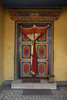 There are several temples in the enclosed village and the doorways are beautiful.