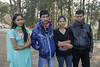 These are some young folks I met at the large field in Bandipur where schools bring thier students to picnic for the day and see the Himalayan views.
