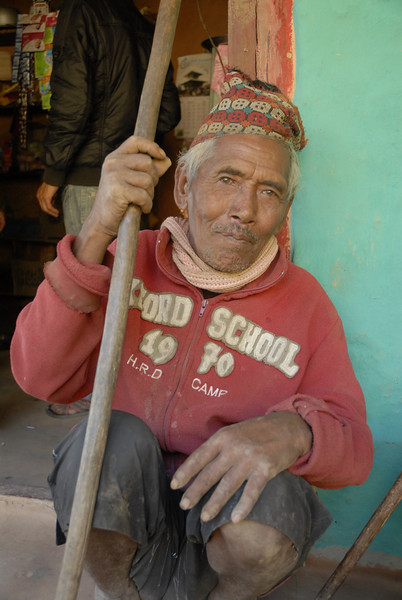 An elder of the village.