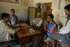 This is the headmasters/teachers room at Dip Joti.