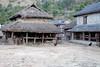 A village scene.