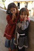 Sahadev's neices, Shreya and Shristi.