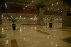 This is Indra Ghandi Airport in Delhi at 1:30 am, our arrival time...not much happening.