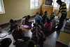 We are back at the Himalayan Children's Care Home. Here they are having a snack break.