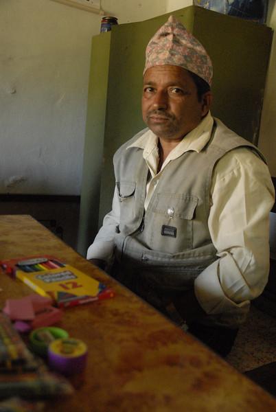 Krishna, one of the teachers at Dip Joti.