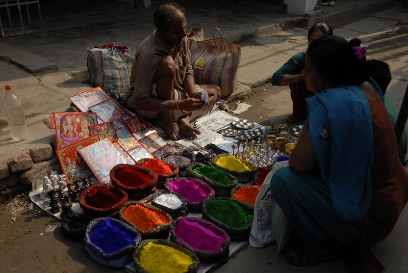 The colors of the dyes are very vivid.