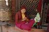 Tibetan nun.