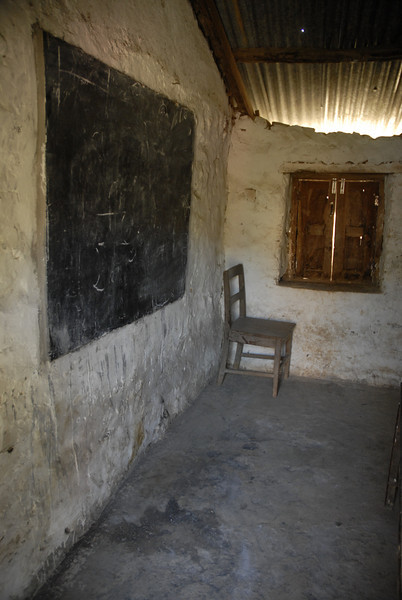 These classrooms are typical, not the worst or the best.
