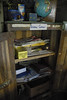 """This is our reason for choosing the school for support. The sign says """"Science Corner"""". For thier current students up through class 8 the contents of this cabinet is all they had as a science lab."""