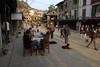 Bandipur bazar scene.