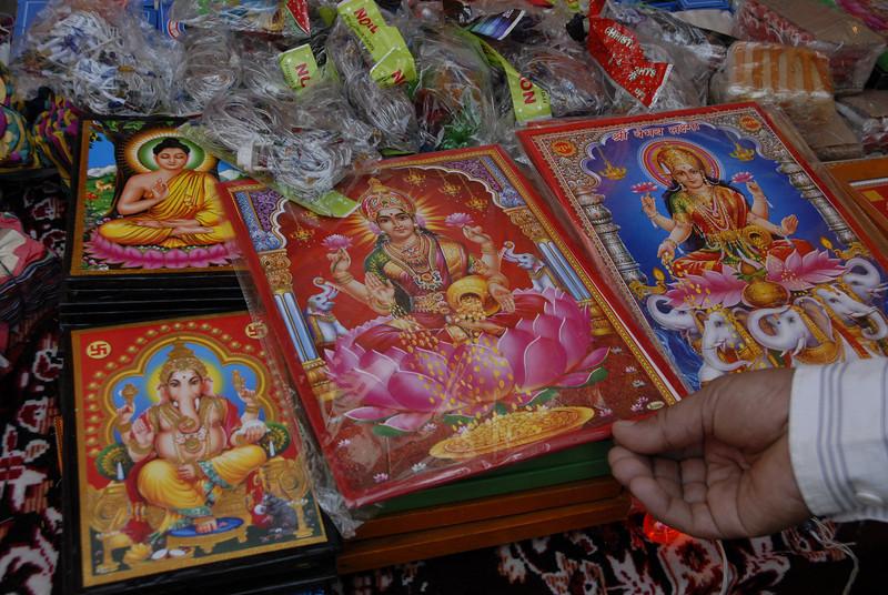 Hindu deities.