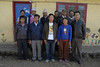 The teachers and staff at the school along with our friend Kunga, back row, far right.