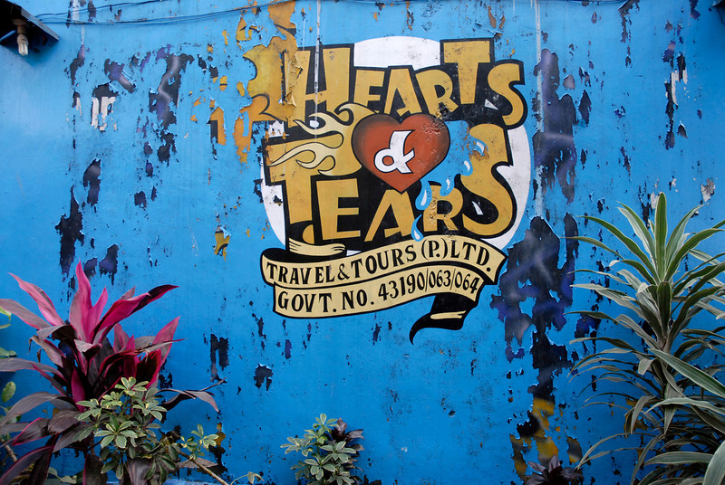 Hearts and Tears is a motorcycle rental business for renting mostly Royal Enfield motorcycles to roam around Nepal. They also have a motorcycle club of the same name.