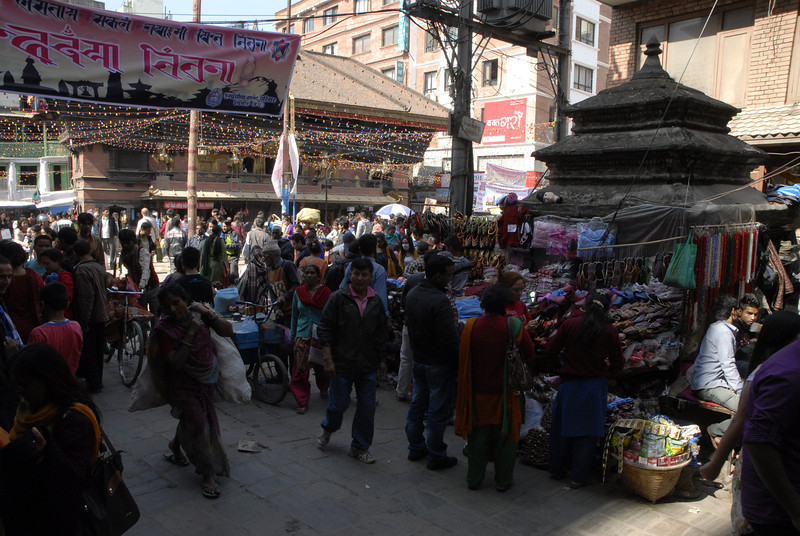 The markets are always busy and like Alice's Restaurant you can get almost anything needed for living in the culture.