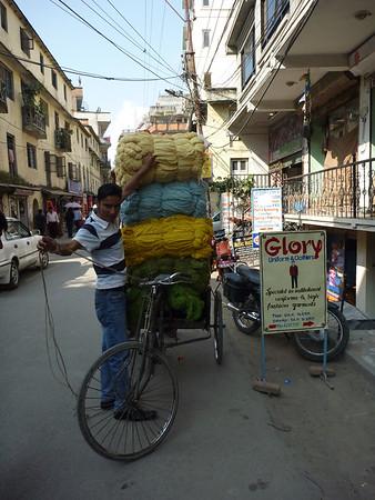 Ulice Katmandu - wiecej bedzie po treku