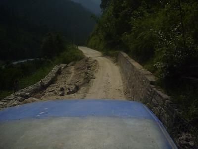 Droga była taka sobie :)