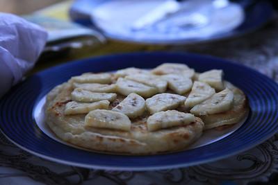 Placek bananowy - super sniadanie