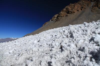 Po drodze mijamy jeszcze pole lodowe
