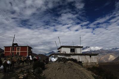 Na koniec region Annapurny żegna nas pięknymi widokami
