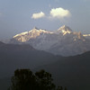 Annapurna II. Behind this summit lies the village Pisang. Another world. Se my trek Annapurna 1991 for photos.