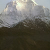 Kali Gandaki river flows between Dhaulagiri I and Annapurna I 6000 m below the summits! Making this the deepest gorge in the world.
