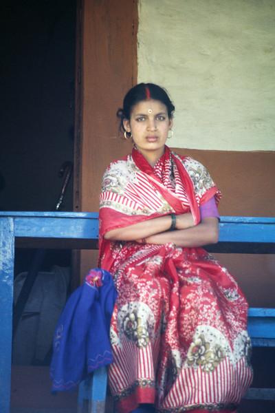 Married hindu woman