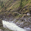 911014, day 13. Lete-Tatopani<br /> Crossing Kali Gandaki.