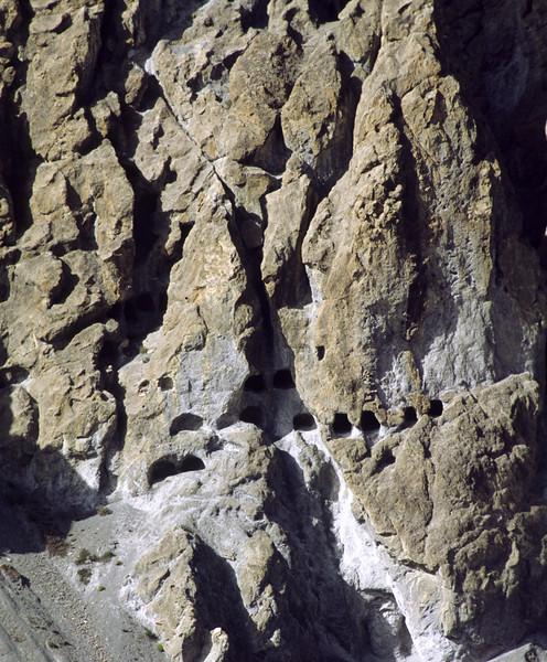 Caves for eremites?
