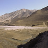 Walking along the riverbed of Kali Gandaki.