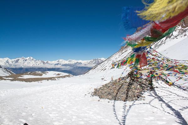 Thorong-La Pass--Annapurna Circuit Trek, Nepal