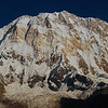 This is what I came to see:  the 13,000 foot high, nearly vertical, south face of Annapurna I, the tenth highest peak in the world (elevation 8091 m; 26,545 feet).  The scale of the mountains here is beyond description.