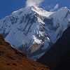 This is Annapurna III (7555 m; 24,787 ft) seen from the upper part of the Modhi Khola valley.