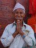 Nepal, Kathmandu, Patan: Namaste!