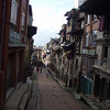 a side street in Bhaktapur
