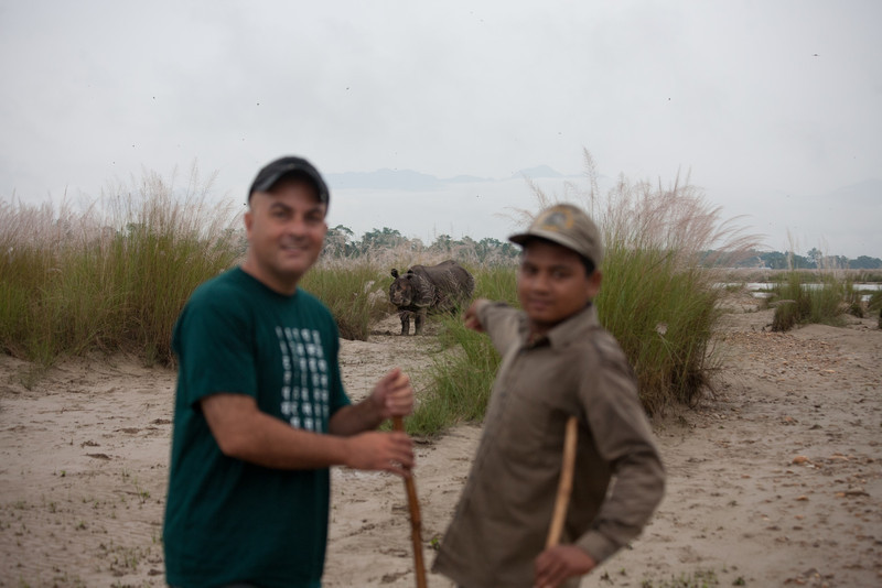 I was hoping that the Rhino would charge us ;-)