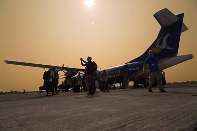 Landing in Biratnagar
