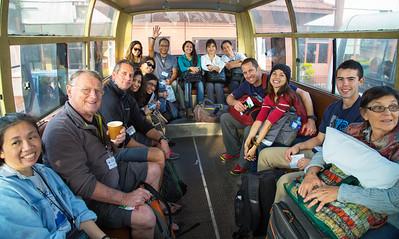 Bus ride to Buddha Air flight going to Biratnagar