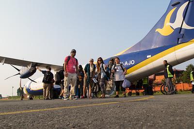 Departure for Biratnagar