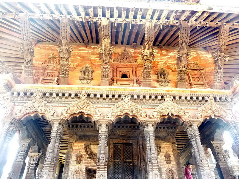 Margie's: building, Durbar Square