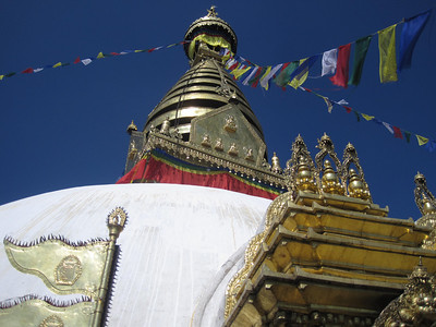 Peter Galpin: stupa at Boudinath