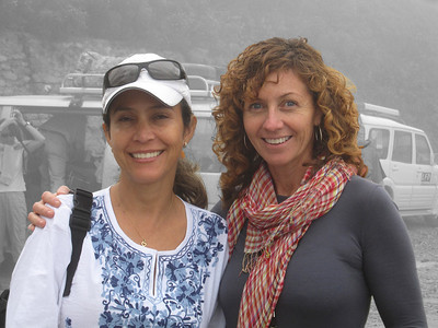 Bwong: Irma and Melissa in the mist.