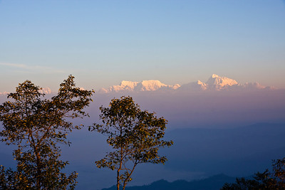 Bwong: Himalayas from Hile ridge