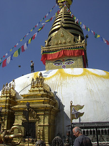 Diane: Stupa at Boudinath