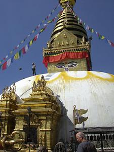 Diane: Stupa at Boudinath