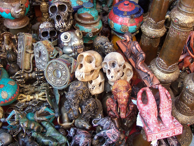 Melissa: monkey skulls