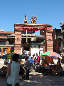 Gate at Bhaktapur