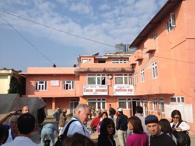 Reina's Nepal '11: Dhankuta Hospital