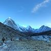 Trekking to Gorak Shep