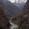961024, day 2. Phakding-Namche<br /> We walk north along Dudh kosi.